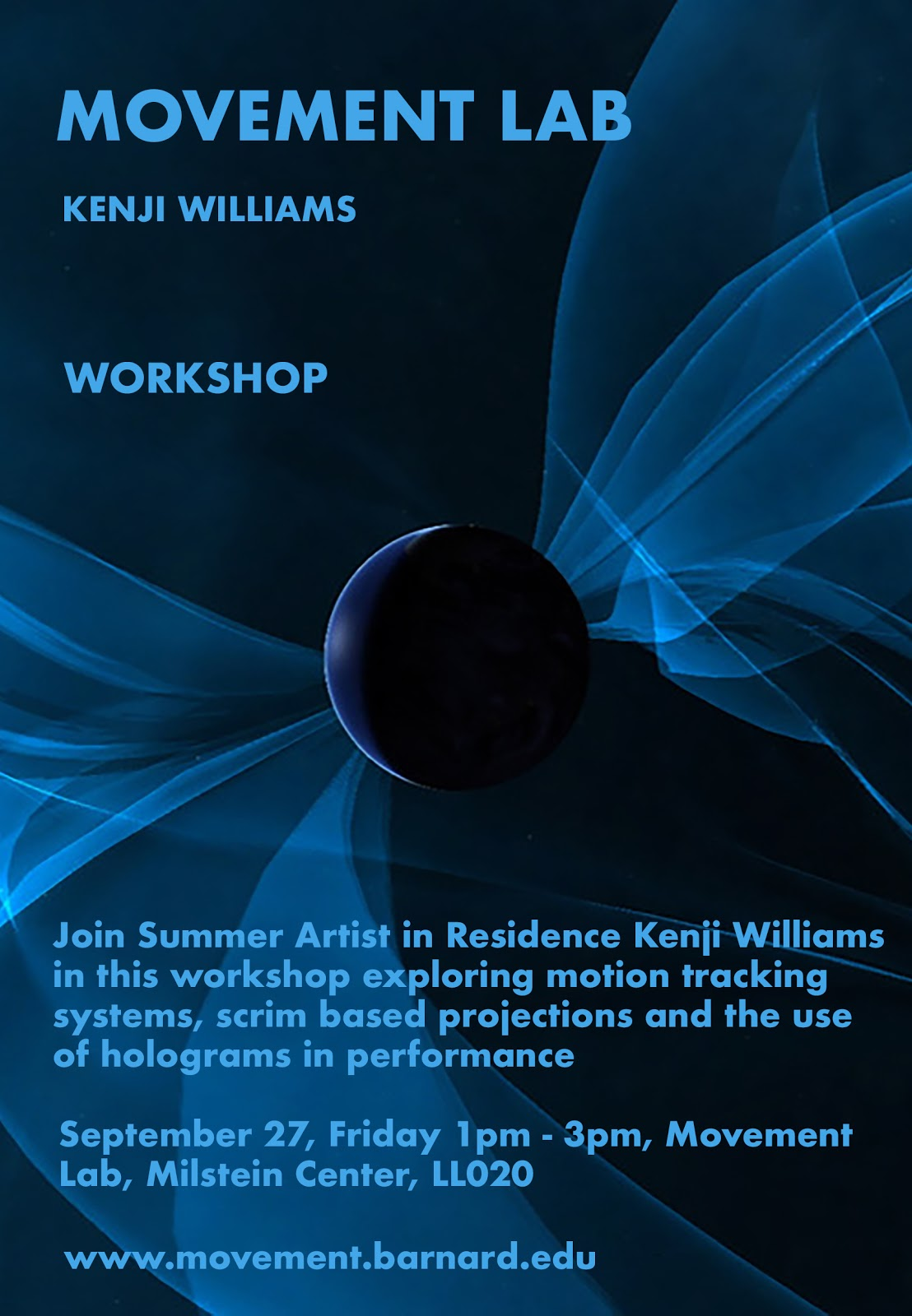 Kenji Workshop poster